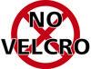 No Velcro