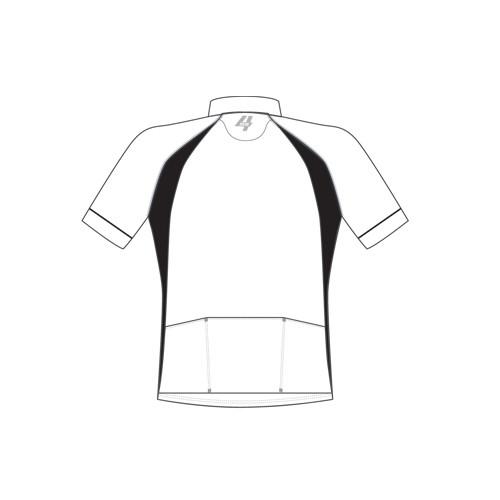 cycling pro jersey back