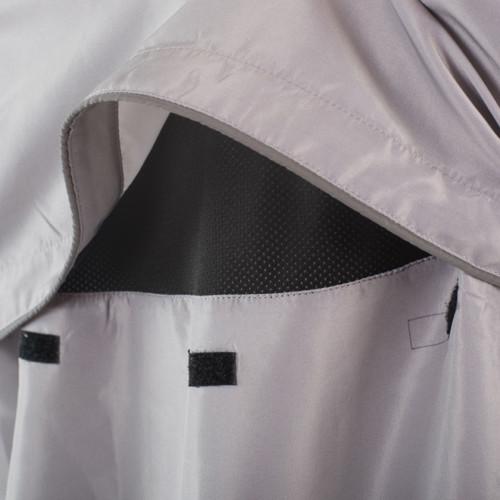 convertible jacket back vent