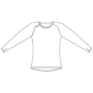 Custom Long Sleeve Women's T Shirt