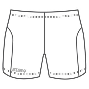 Custom Women's Half Run Brief Shorts