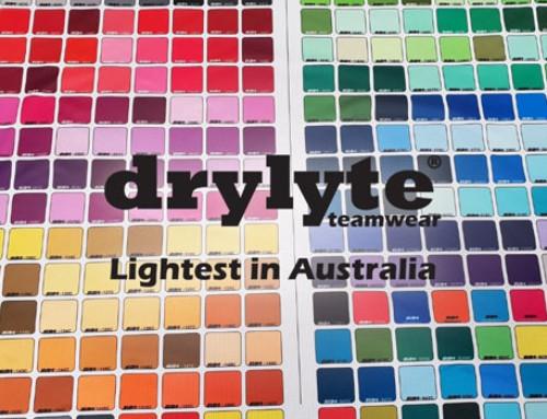DRYLYTE  Teamwear A First For Australia