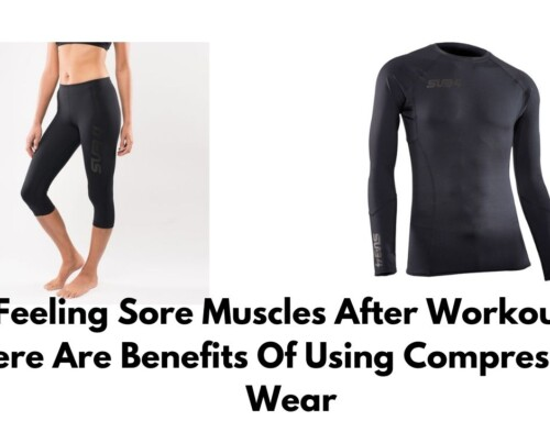 Feeling sore muscles after workout? Here are benefits of using compression wear
